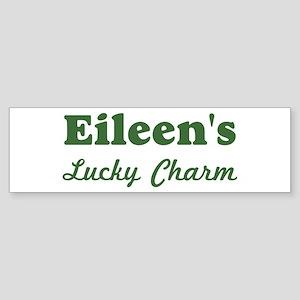 Eileens Lucky Charm Bumper Sticker
