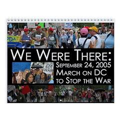 Peace March Wall Calendar