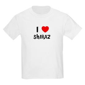 I LOVE SHIRAZ Kids T-Shirt