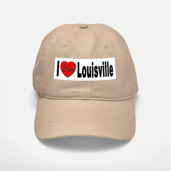 I Love Louisville Kentucky Baseball Baseball Cap