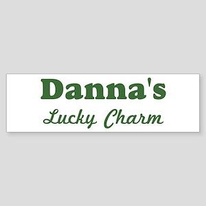 Dannas Lucky Charm Bumper Sticker