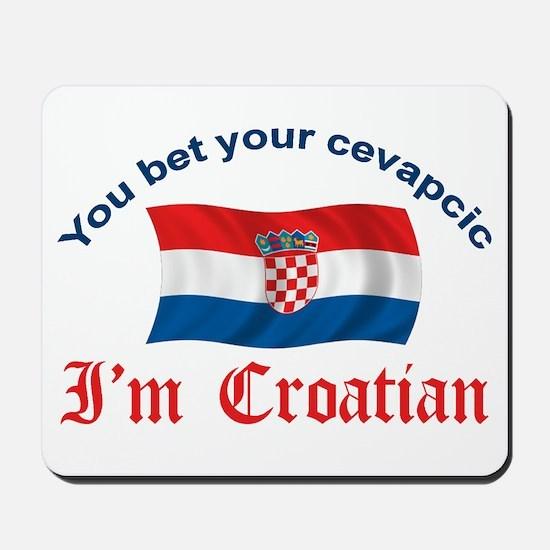 Croatian Cevapcic 2 Mousepad