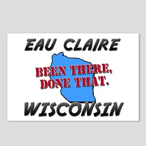 eau claire wisconsin - been there, done that Postc