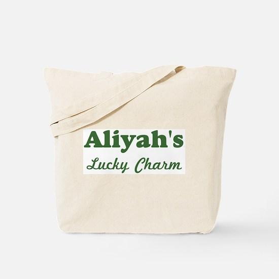 Aliyahs Lucky Charm Tote Bag