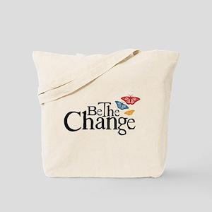 Gandhi - Change - Butterfly Tote Bag