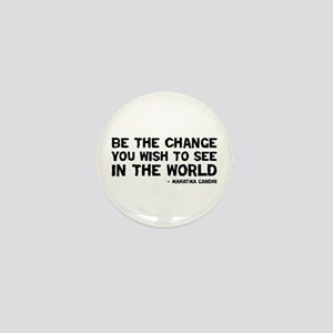 Quote - Gandhi - Change Mini Button