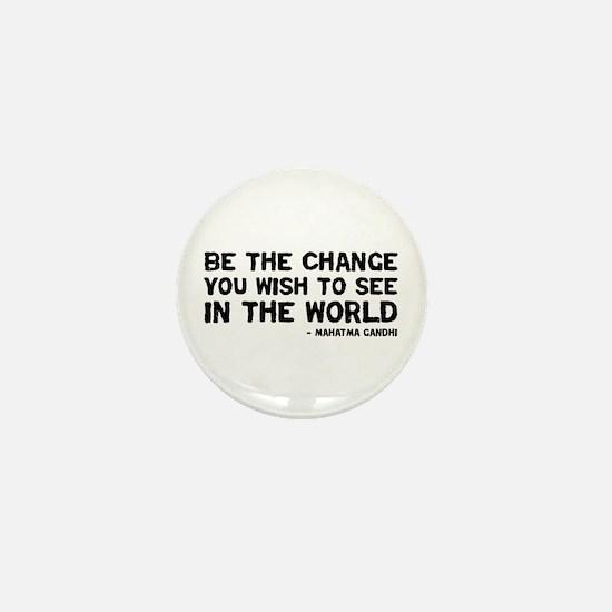 Quote - Gandhi - Change Mini Button