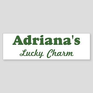 Adrianas Lucky Charm Bumper Sticker