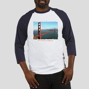 Golden Gate Bridge - Blue Baseball Jersey