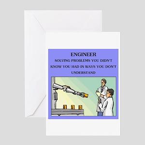 Engineer Engineering Joke Card Greeting Cards