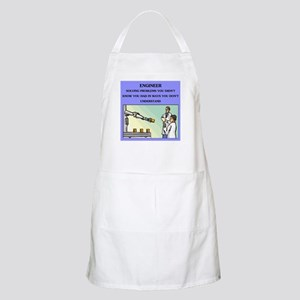 engineer engineering joke BBQ Apron