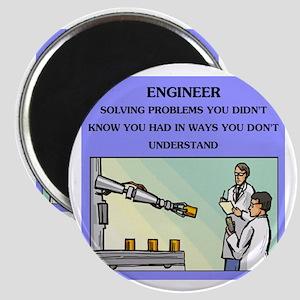"""engineer engineering joke 2.25"""" Magnet (10 pa"""