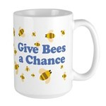 Give Bees a Chance Large Mug