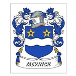 Meyrick Coat of Arms Small Poster