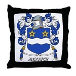 Meyrick Coat of Arms Throw Pillow