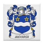 Meyrick Coat of Arms Tile Coaster