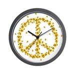 Give Bees a Chance Wall Clock
