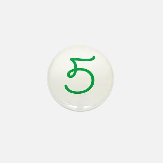 Age 5 (5th Birthday) Mini Button
