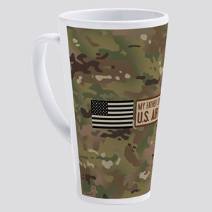 U.S. Air Force: Father 17 oz Latte Mug
