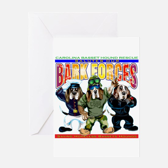 Bark Forces Greeting Cards