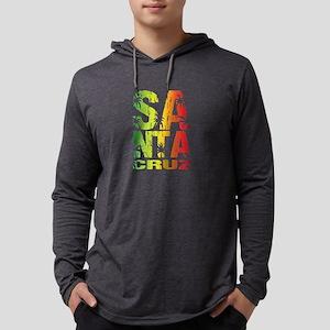 Santa Cruz Colorful Palms Long Sleeve T-Shirt
