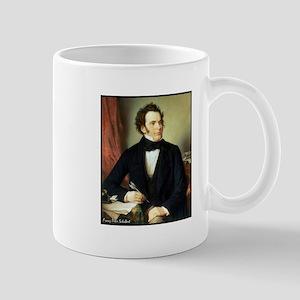 """Faces """"Schubert"""" Mug"""