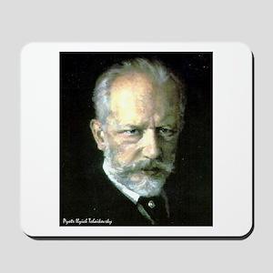 "Faces ""Tchaikovsky"" Mousepad"