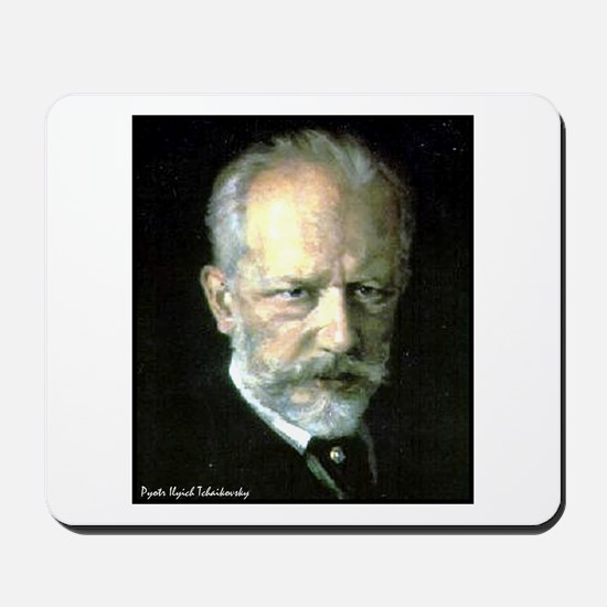 "Faces ""Tchaikovsky"" Mousepad"