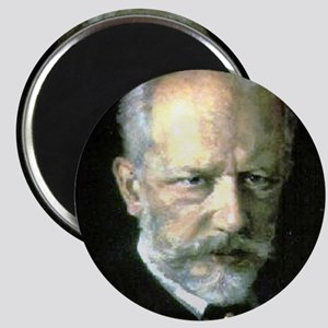 "Faces ""Tchaikovsky"" Magnet"