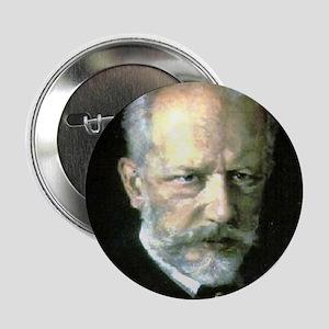 "Faces ""Tchaikovsky"" 2.25"" Button"