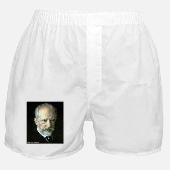 "Faces ""Tchaikovsky"" Boxer Shorts"