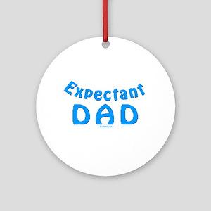 Expectant Dad Ornament (Round)