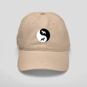 Yin Yang Schnauzer Cap
