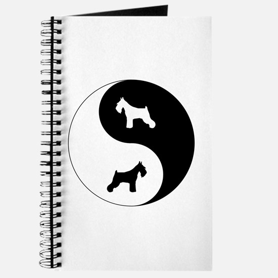Yin Yang Schnauzer Journal