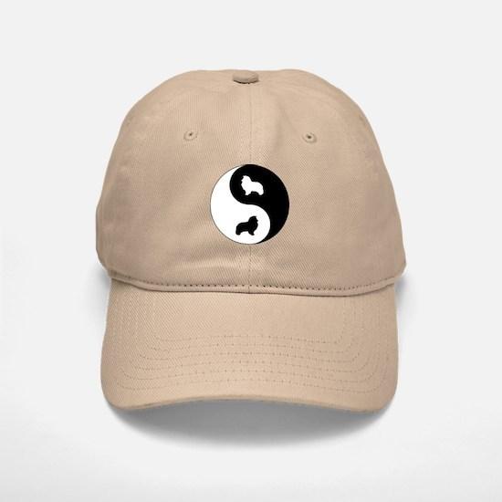 Yin Yang Sheltie Baseball Baseball Cap
