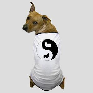 Yin Yang Silky Dog T-Shirt