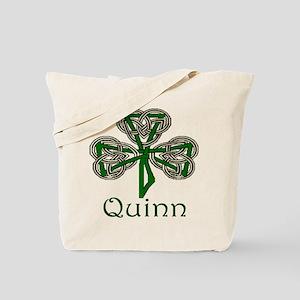 Quinn Shamrock Tote Bag