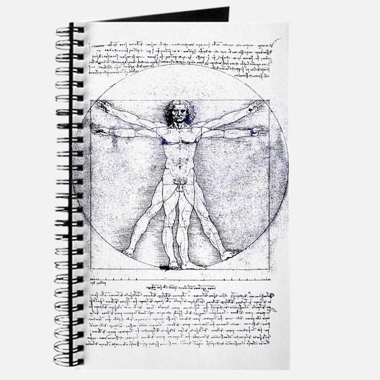 Unique Vitruvian man Journal