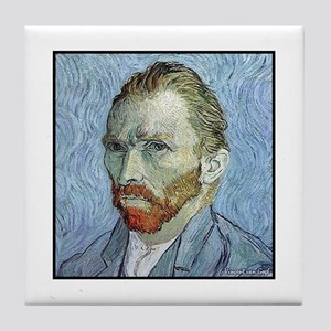 "Faces ""Van Gogh"" Tile Coaster"