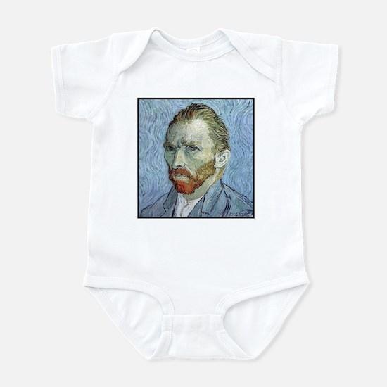 """Faces """"Van Gogh"""" Infant Bodysuit"""