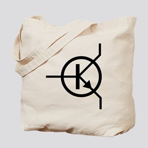 transistor icon Tote Bag