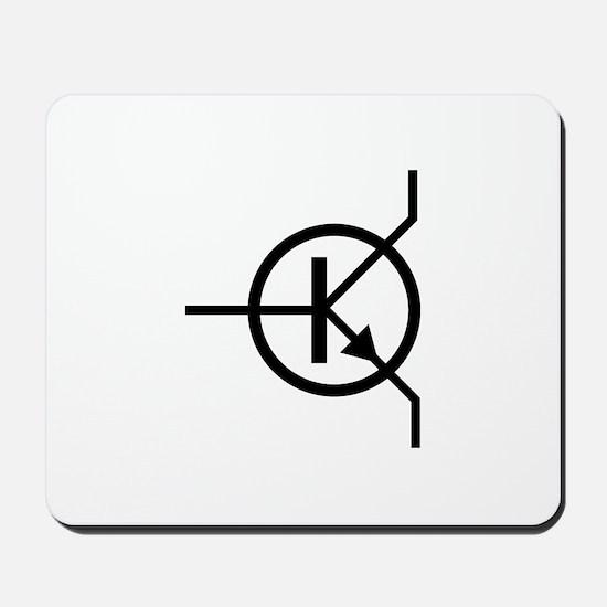 transistor icon Mousepad