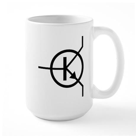 transistor icon Large Mug