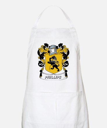 Phillips Coat of Arms BBQ Apron