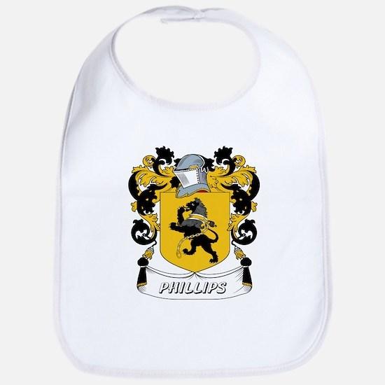 Phillips Coat of Arms Bib