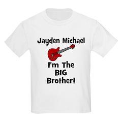 Jayden Michael I'm The Big Brother Guitar T-Shirt