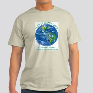 Protect Location - Light T-Shirt