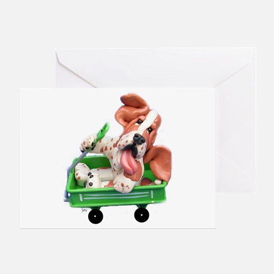 Sally Wagon Greeting Cards