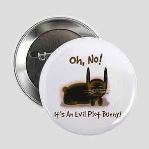 Evil Plot Bunny Button