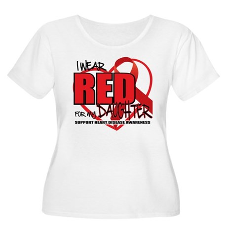 HD: Red For Daughter Women's Plus Size Scoop Neck